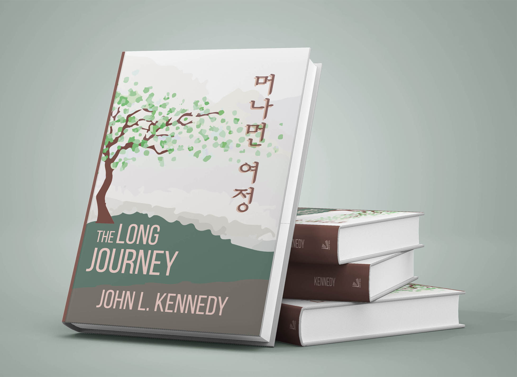 How To Make A Book Cover Mockup ~ The long journey write now publishing house