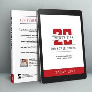 20 Tips Power Chicks eBook Mockup