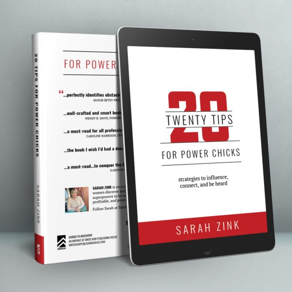 20 Tips Power Chicks eBook Mockup